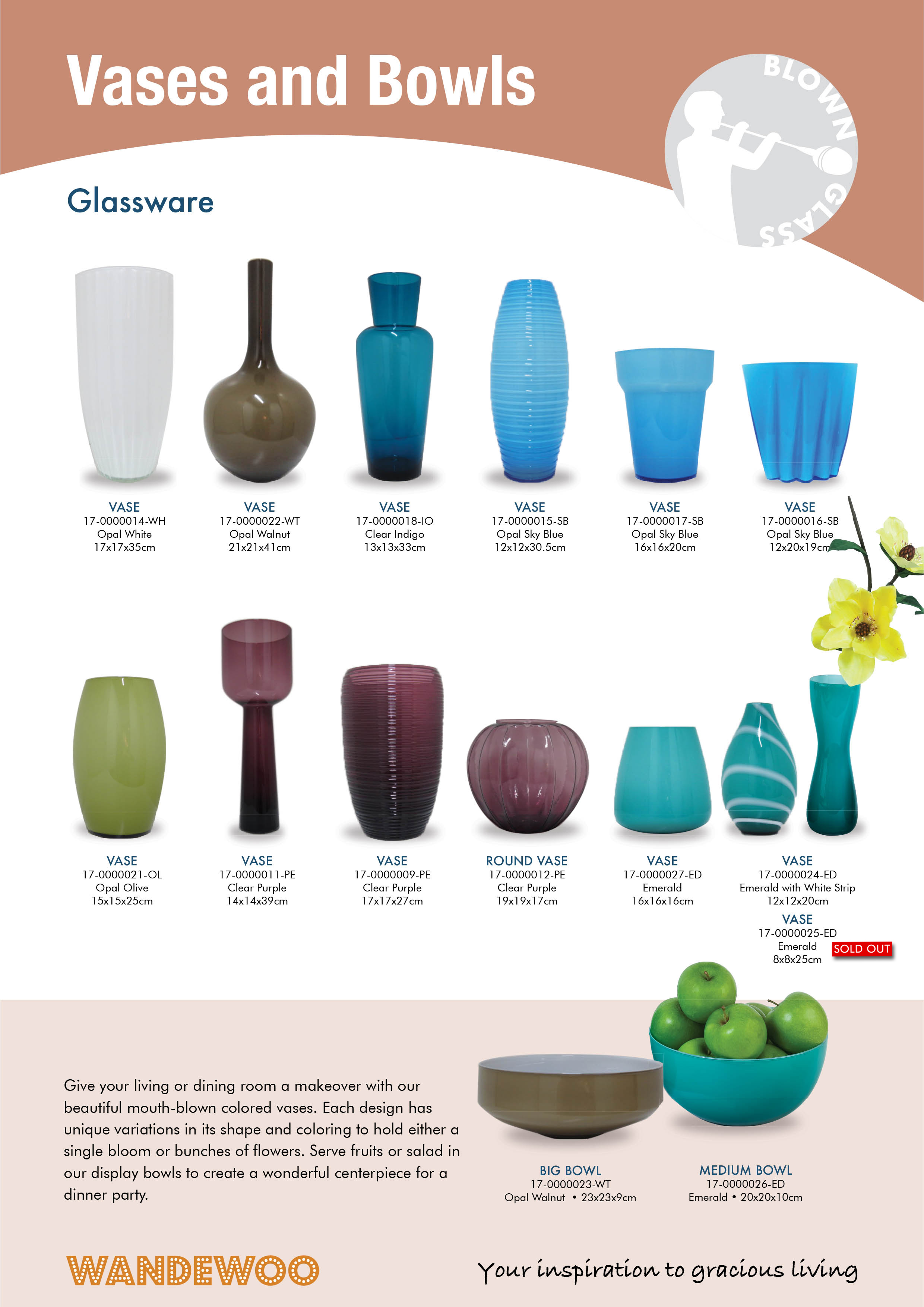 Home Decor and Accessories in Singapore - Vases And Bowls