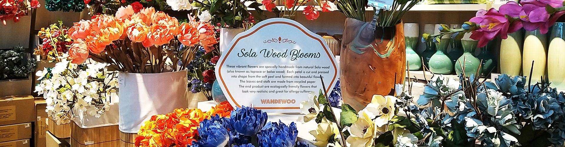 Handmade Decorative Flowers Wandewoo